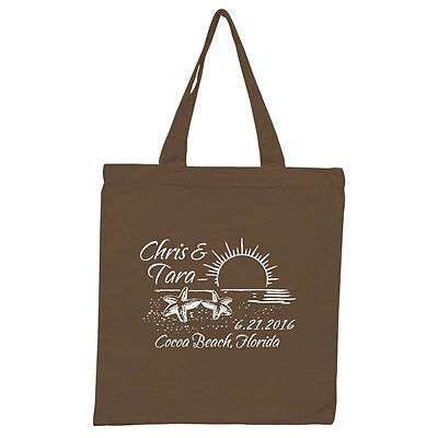 150 Custom Personalized Tote Bags Perfect for Destination Wedding or Event Favor