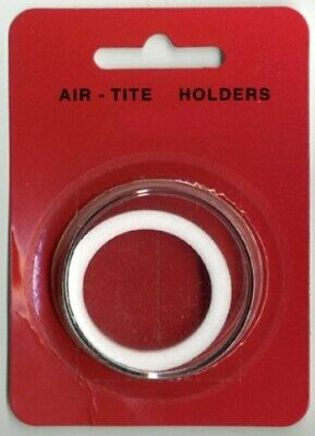 1 Airtite Coin Holder Capsule White Ring 39 Mm 1Oz Silver Or Copper Rounds