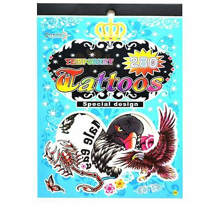 Temporary Tattoos Party Bag Fillers Waterproof, Non Toxic Children Sticker No:06