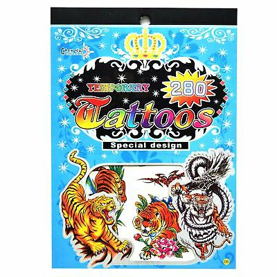 Temporary Tattoos Party Bag Fillers Waterproof, Non Toxic Children Sticker No:05