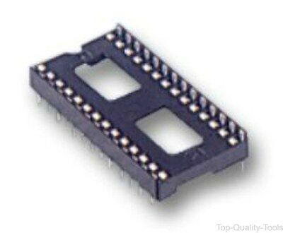 SOCKET IC, DIL, 0.3, TUBE/17, 28WAY - Part Number MC-2227-28-03-F1