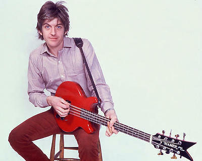 Nick Lowe With Guitar Color 11x17 Mini Poster