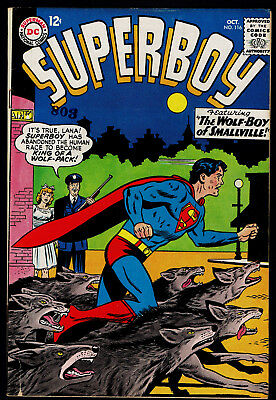1964 DC Superboy #116 VG/FN 1960 Classics Illustrated The Atomic Age VG-