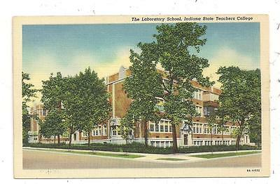 The Laboratory School Indiana State Teachers College Terre Haute IN Postcard