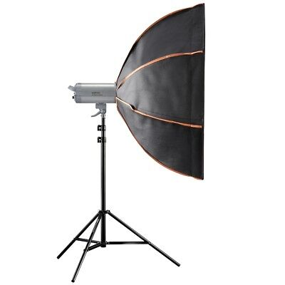 walimex pro VC Excellence Advance 400 WS L, Blitzkopf, Softbox, Stativ