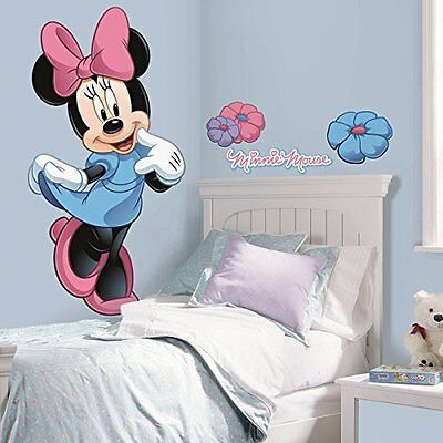 Roommates Rmk1509Gm Minnie Mouse Peel And Stick Giant Wall Decal New
