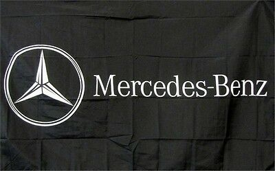 Mercedes-Benz Logo Dealer Banner Flag Sign
