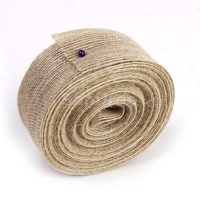 10M Hessian Burlap Ribbon Rustic Vintage Wedding Bow Craft Gift Wrapping