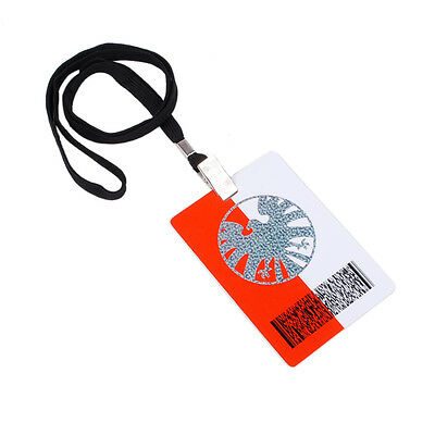 Agents Of S.h.i.e.l.d Shield Secret Base Id Card Passport With Lanyard-38022