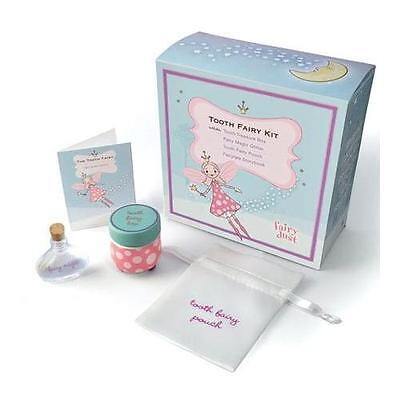 Tooth Fairy Kit includes Fairy Dust, Tooth Pouch, Treasure Box, & Story New