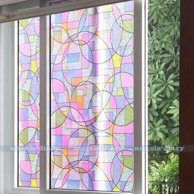 45cmx2m Home Office Privacy Frosted Frosting Removable Glass Window Film