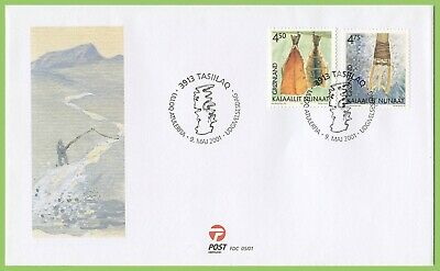Greenland 2001 Cultural Heritage First Day Cover