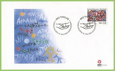 Greenland 2004 Children Society First Day Cover