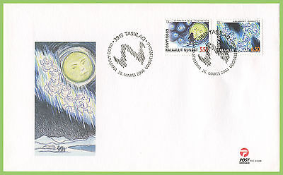 Greenland 2004 Nordic Mythology First Day Cover