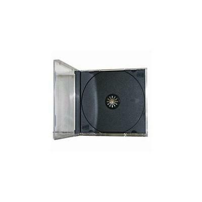 25 Standard CD Jewel Case - Assembled - Black New
