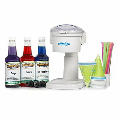 Snow Cone Machine and Syrup Party Package by Hawaiian Shaved Ice New