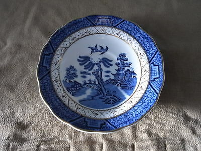 """Booth """"Real old Willow"""" A8025, Untertasse / Tassenteller 14,5 cm Royal Doulton"""