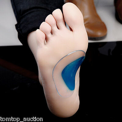 1 Pair Orthotic Arch Support Insole Flat Foot Correction Shoe Cushion Inserts US