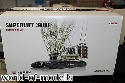 Conrad 2744 Terex Superlift 3800 Raupenkran 1:50 NEU in OVP