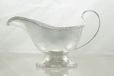 Silver Sauce Boat Sheffield 1936 Walker & Hall