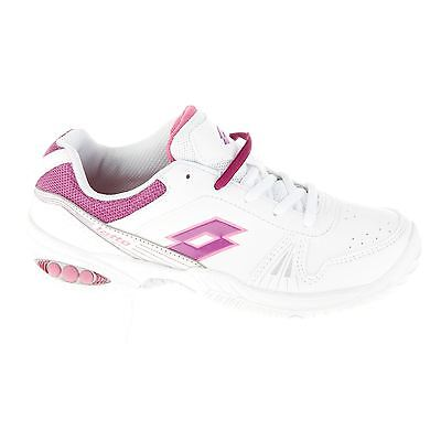 Lotto Kids TEffect Juniors Tennis Shoes Lace Up Trainers Sneakers Sports