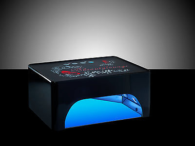 35W BLACK  CCFL/LED Nail UV Lamp Gel nail polish curing Lamp 3 COLOUR CHOICE