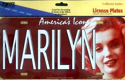 "Marilyn Monroe America's Icon - 12"" x 6"" Metal Sign / License Plate   New"