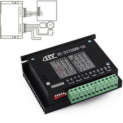 TB6600 0.2-5A Single Axis CNC Engraving Machine Stepper Motor Driver Controller