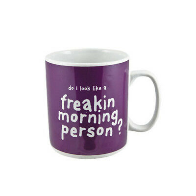 Ceramic Cup Freak Morning Person Large Giant Coffee Novelty Mug New Gifts