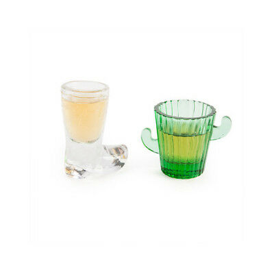 Cowboy Shots Cactus Shot Glass Drinking Session House Party Beer Wine Whiskey