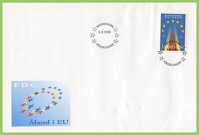 Aland 1995 European Union First Day Cover