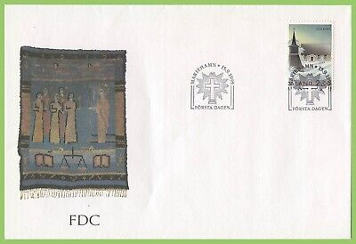 Aland 1995 Geta Church First Day Cover