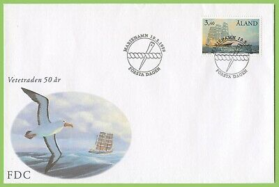 Aland 1999 Rounding Cape Horn, Ship First Day Cover