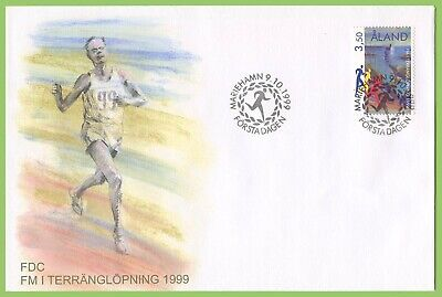 Aland 1999 Cross Country Championship First Day Cover