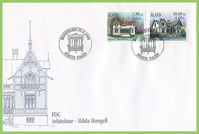 Aland 2000 Hongell Anniversary First Day Cover