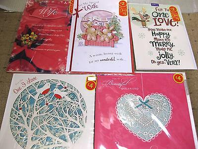 100 Mixed Christmas Cards Top Quality Wholesale Job Lots Hallmark £2 Rrp Each