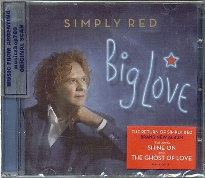 Simply Red Big Love Sealed Cd New 2015
