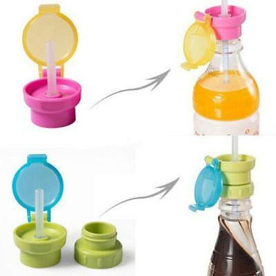Kid Elderly Portable Silicone Straw Spill-proof Drink Bottle Spout Cover - CB