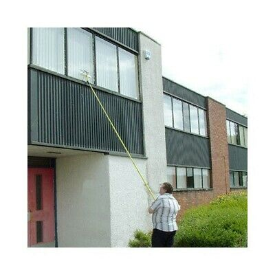 3.5M Telescopic Metal Window Cleaning Conservatory Glass Cleaner With Squeegee
