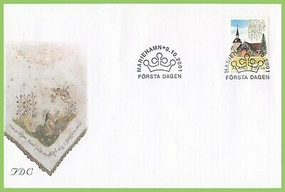Aland 2001 Foglo Church First Day Cover