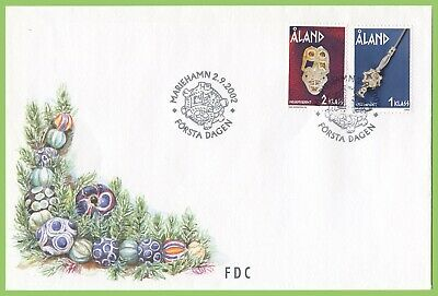 Aland 2002 Iron Age Jewelry First Day Cover