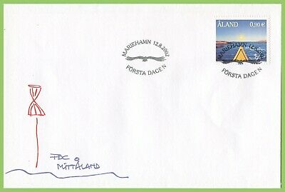 Aland 2002 Kayaking First Day Cover