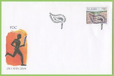 Aland 2004 Olympic Games First Day Cover
