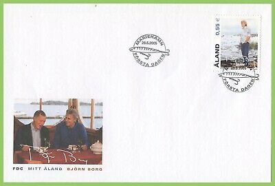 Aland 2005 Bjorn Borg First Day Cover