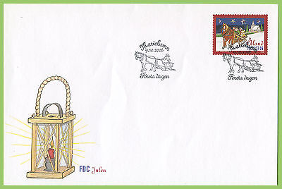 Aland 2006 Christmas First Day Cover