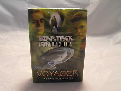 Star Trek Ccg Voyager Sealed Starter Deck