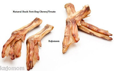 100 - *USA* DUCK FEET Dog Treats Chews NATURAL Joint Glucosamine Chicken Baked