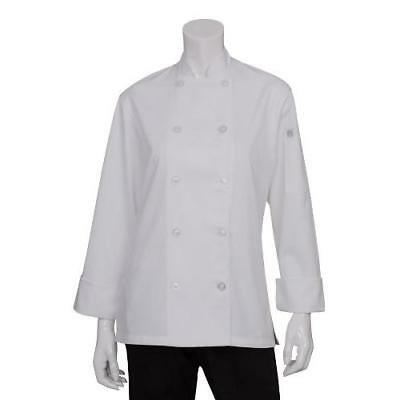 Chef Works Women's Le Mans Chef Coat (BCW004) New
