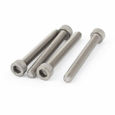 4pcs M6x1mmx50mm Metric Stainless Steel Hex Socket Head Cap Screws Bolts DIN 912