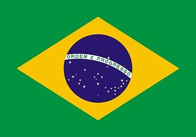 Polyester flag Brasil  64 X 96 CM Brazil flag Hanging country flag high quality